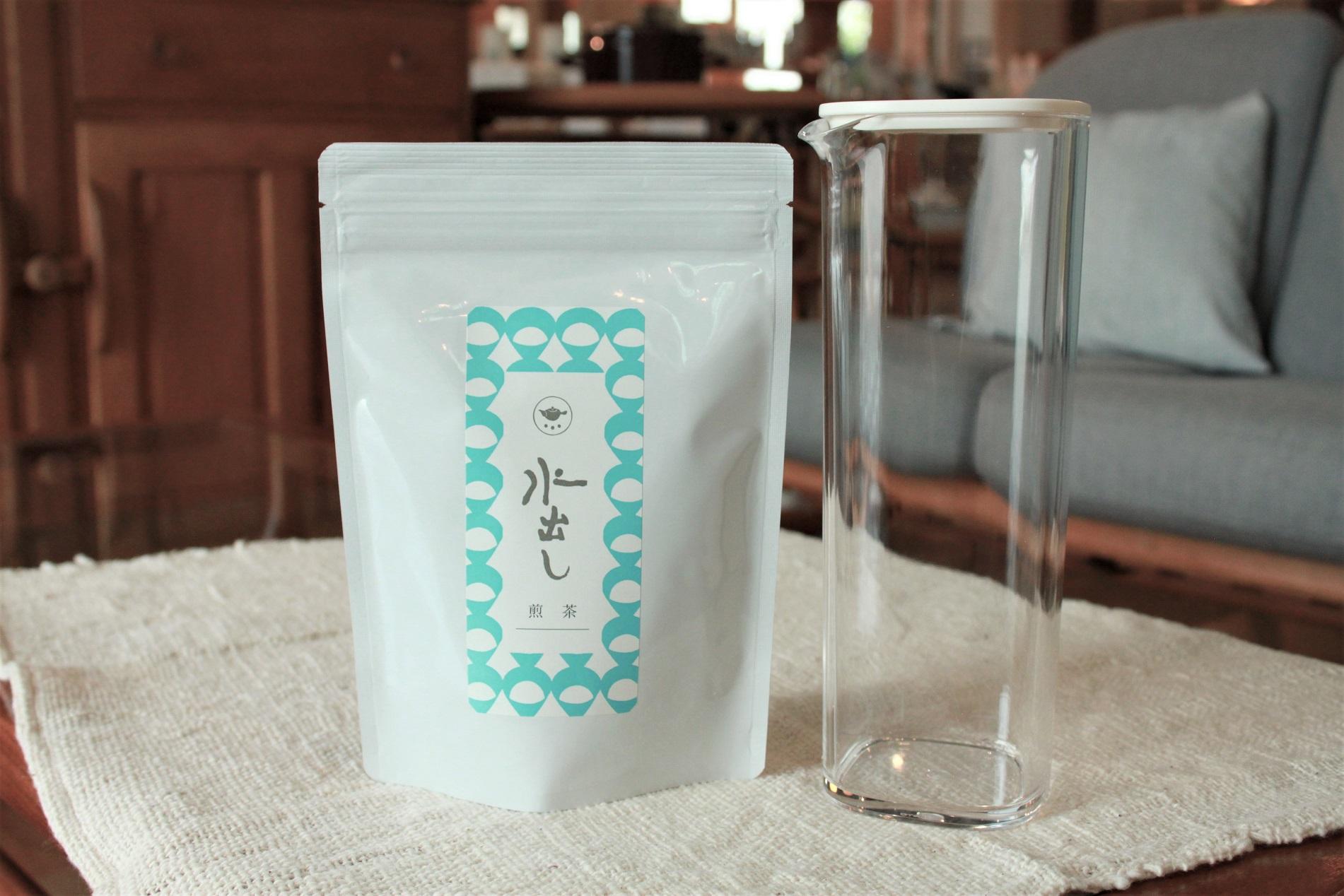 暑い夏には水出し茶がおすすめです