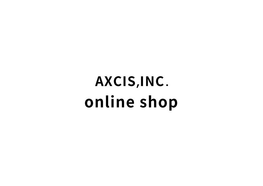 axcis onlineshop インスタグラムがopenしました!